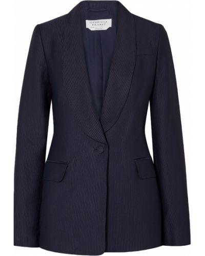 Пиджак с карманами на пуговицах из вискозы Gabriela Hearst
