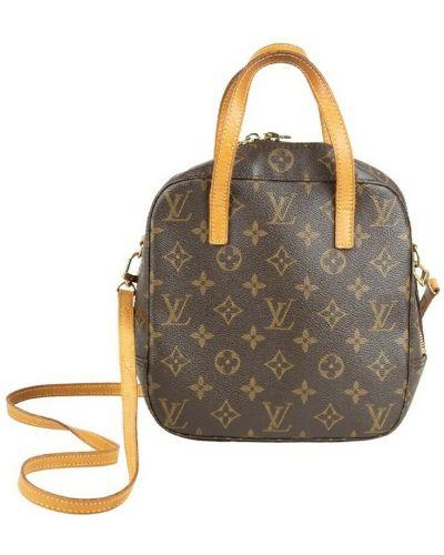 Brązowa torba na ramię z paskiem Louis Vuitton Vintage