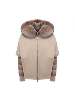 Кашемировая куртка - серая Moorer