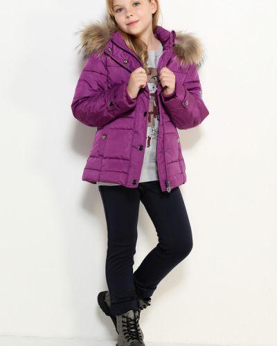 Куртка фиолетовый свободная Finn Flare