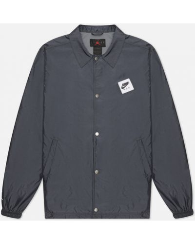Нейлоновая серая куртка с подкладкой Jordan