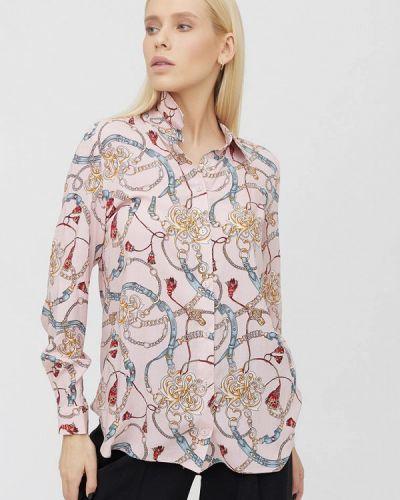 Розовая рубашка с длинными рукавами Cardo