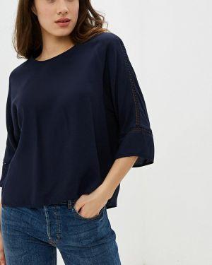 Блузка с длинным рукавом весенний синяя Gerry Weber