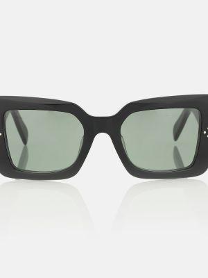 Черные солнцезащитные очки квадратные винтажные Celine Eyewear