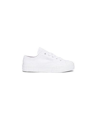 Кроссовки текстильные белый Superga