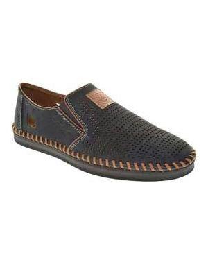 Туфли из нубука Rieker