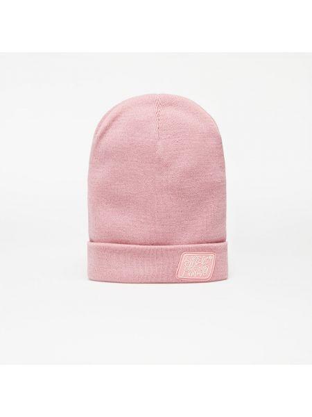 Różowa czapka beanie Life Is Porno
