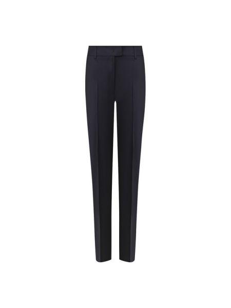 Шерстяные брюки - синие Paul&joe