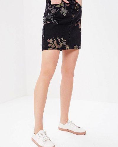 Джинсовая юбка весенняя Noisy May