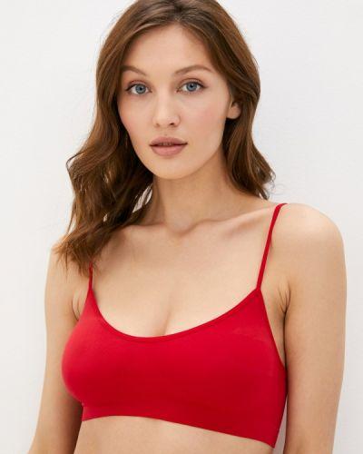 Красный бюстгальтер без косточек Mademoiselle