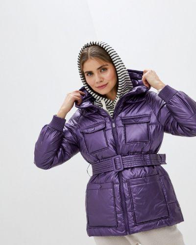 Фиолетовая утепленная куртка Sh