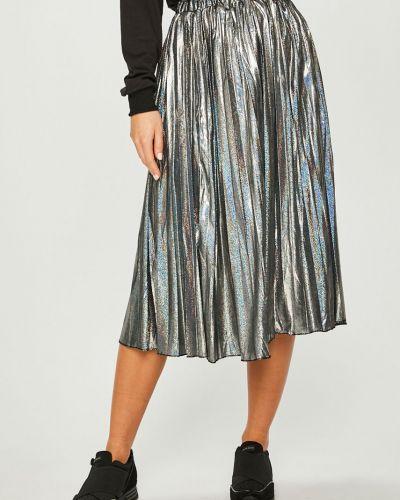 Плиссированная юбка миди карандаш Answear