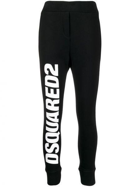 Sportowe spodnie z kieszeniami do biegania Dsquared2