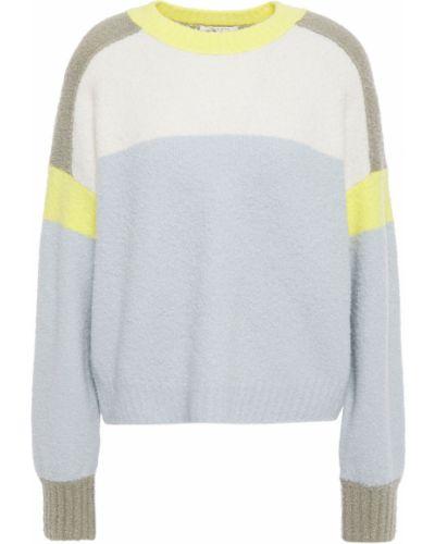 Prążkowany niebieski sweter wełniany Rag & Bone