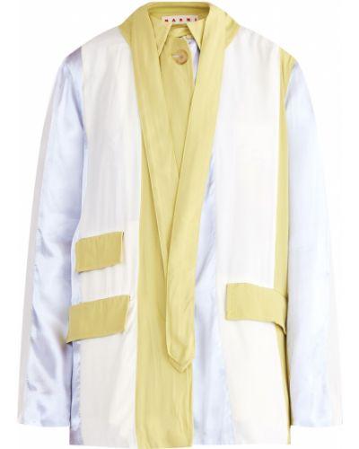 Куртка приталенная с карманами Marni