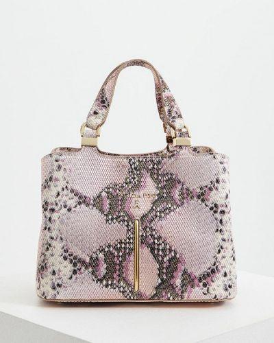 Кожаная сумка через плечо фиолетовый Patrizia Pepe