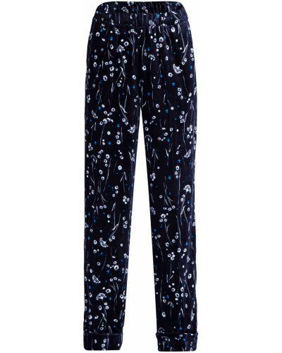 Свободные брюки в цветочный принт из вискозы Alexander Terekhov