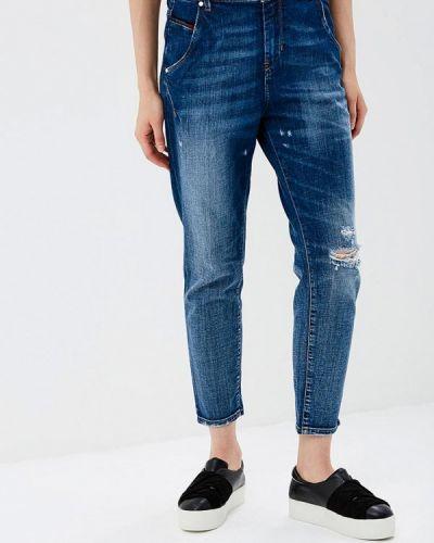 Синие джинсы рваные Diesel