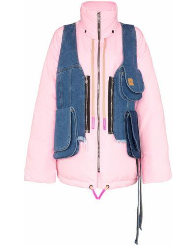 Розовое пальто Natasha Zinko