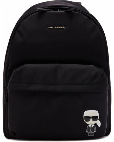 Рюкзак текстильный на молнии Karl Lagerfeld