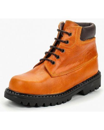 Коричневые ботинки Barritos