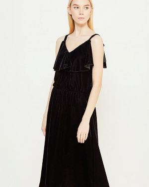 Вечернее платье черное весеннее Blugirl Folies