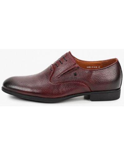 Кожаные красные туфли Rossini Roberto