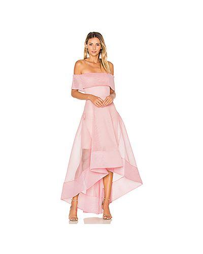 Платье розовое на молнии Bronx And Banco