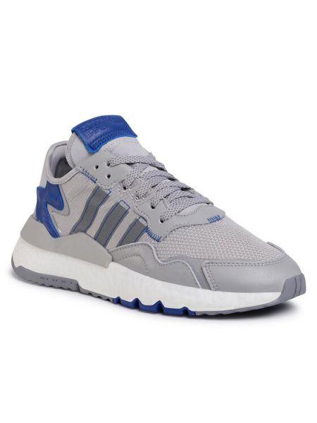 Szary joggery Adidas