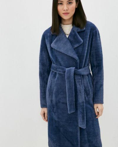Синяя шуба Vittoria Vicci