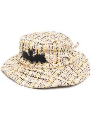 Żółty kapelusz bawełniany Natasha Zinko