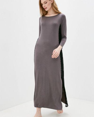 Домашнее серое платье Petit Pas