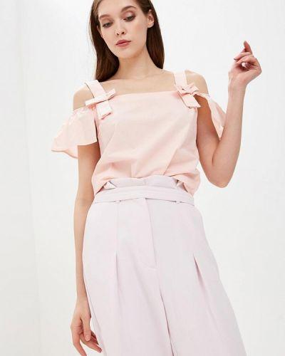 Розовая блузка с бантом Befree