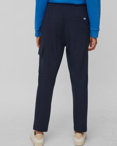Синее брюки карго на резинке с завязками Marc O'polo Denim