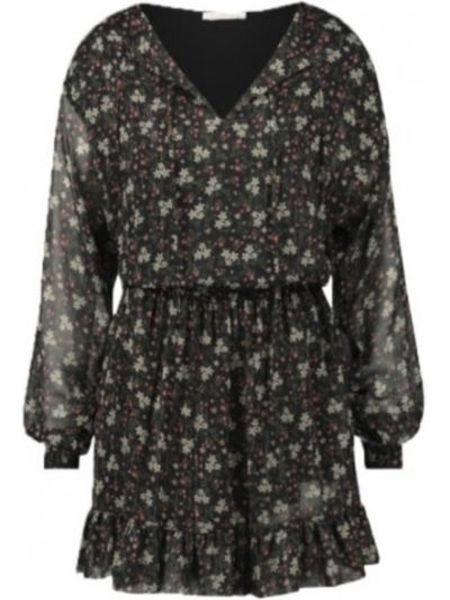 Czarna sukienka mini Freebird