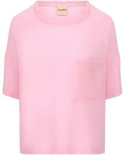 Топ розовый джинсовый Nude