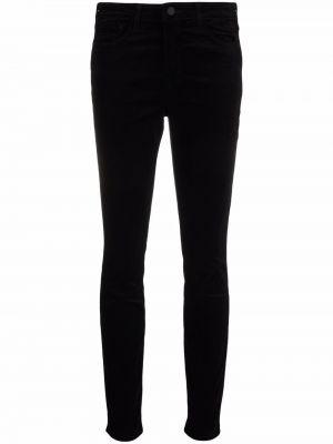 Зауженные классические брюки - черные L'agence