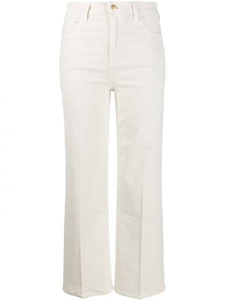 Укороченные брюки вельветовые с завышенной талией J Brand