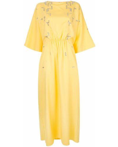 Платье мини с пайетками макси Rami Al Ali