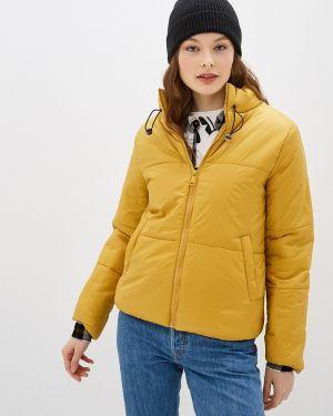 Утепленная куртка - желтая Pink Woman