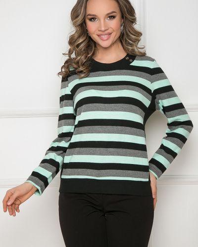 С рукавами трикотажная блузка в полоску Bellovera