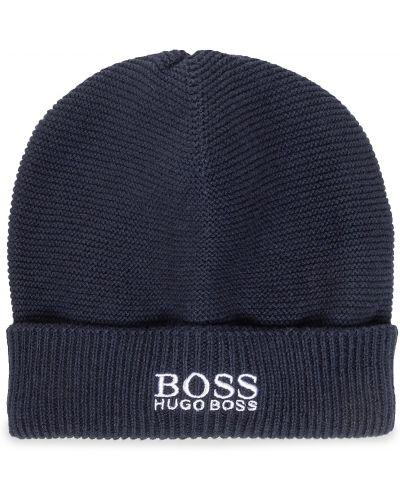 Z kaszmiru czapka Boss