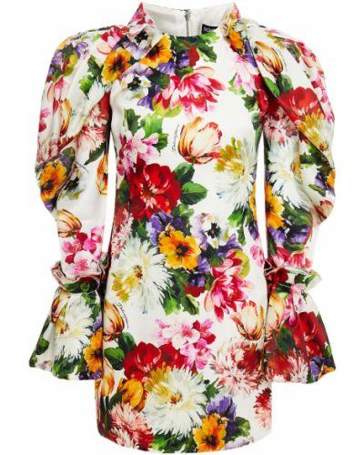 Шелковое платье мини Dolce & Gabbana