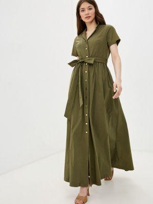 Платье - зеленое Mankato