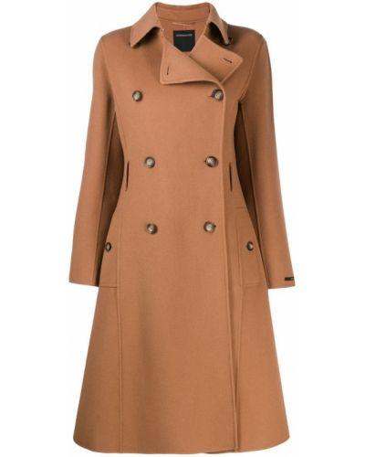 Расклешенное длинное пальто с капюшоном Sport Max Code