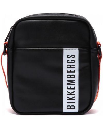 Кожаная сумка Bikkembergs