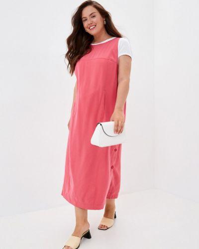 Повседневное розовое платье Helmidge
