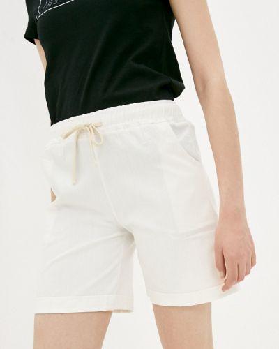 Повседневные белые шорты Izabella
