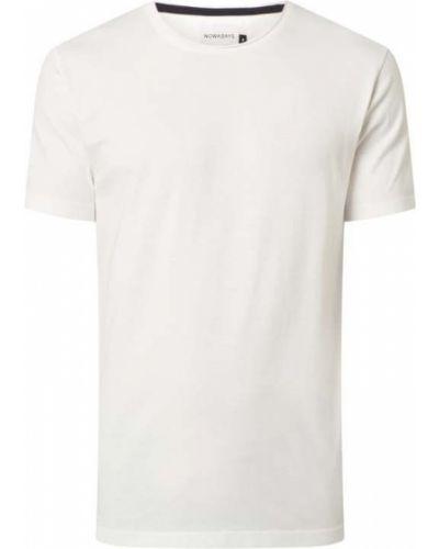 Biała t-shirt bawełniana Nowadays