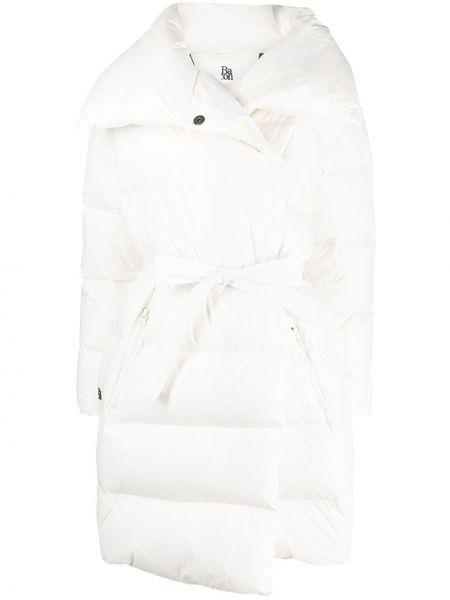 Стеганое пальто - белое Bacon